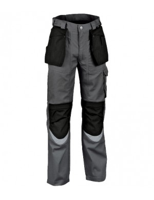 Pantaloni Cofra Carpenter antracite/black