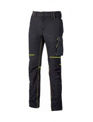 Pantaloni Upower WORLD(inserti gialli)