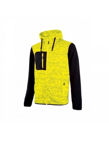 Felpa U-Power Rainbow Giallo Fluo