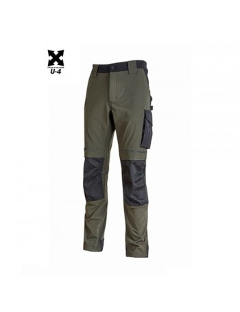 Pantaloni U-Power Atom Dark Green