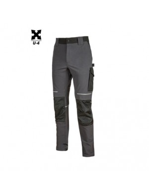 Pantaloni U-Power Atom Asphalt Grey