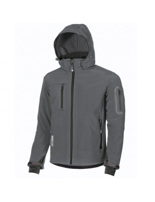 Softshell Metropolis U-Power Grey