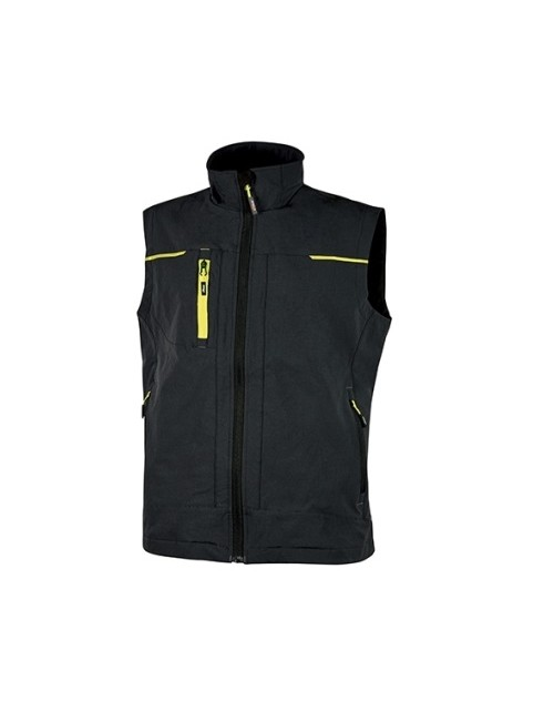 Gilet Saturn U-Power Black Carbon